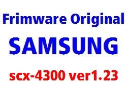 آپدیت اورجینال SCX-4300_V1.23