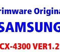 برنامه اورجینال SCX4300_V1.21