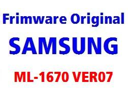 فایل آپدیت پرینتر ML1670_V1.01.00.07