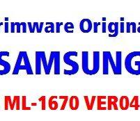 فایل فریمور اورجینال ML1670_V1.01.00.04