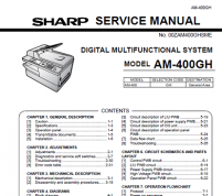 سرویس منوال شارپ AM-400