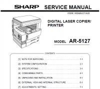 سرویس منوال شارپ AR-5127