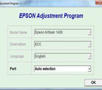 برنامه ریست اپسون ۱۵۰۰W و Artisan 1430