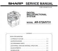 سرویس منوال شارپ AR-5726_AR-5731