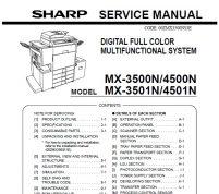 سرویس منوال شارپ MX-3500N_4500N_3501N_4501N