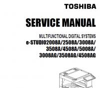 سرویس منوال توشیبا ۴۵۰۸A و ۳۰۰۸A