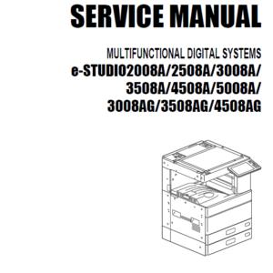 سرویس منوال توشیبا 4508A و 3008A
