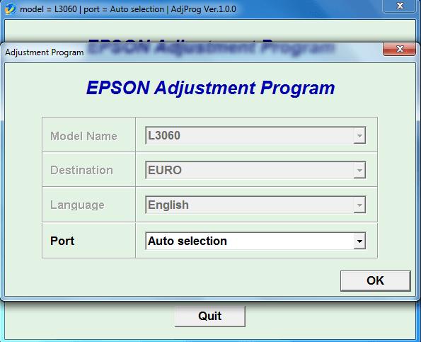 برنامه ریست اپسون L3060