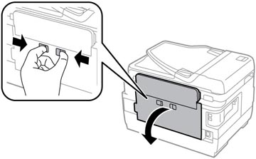 نحوه تعویض Maintenance Box اپسون WF7610 (2)